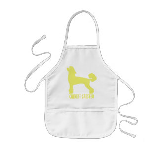 Chinese Crested Kids' Apron
