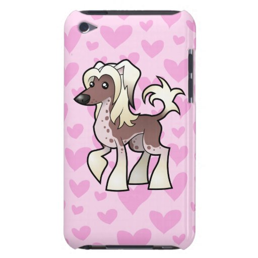 Chinese Crested Love (hairless) iPod Touch Case-Mate Case