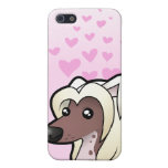 Chinese Crested Love (hairless) Cases For iPhone 5