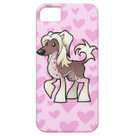 Chinese Crested Love (hairless) iPhone 5 Case