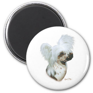 Chinese Crested Fridge Magnets