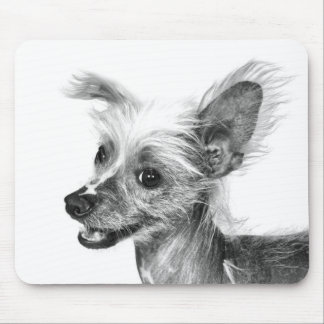 Chinese Crested Mouse Pad