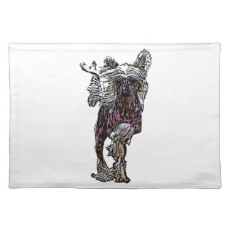 Chinese Crested On The Move Placemat