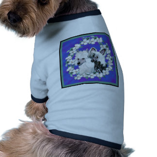 Chinese Crested Pair Pet Shirt