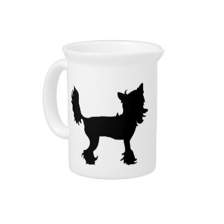 Chinese Crested Drink Pitcher
