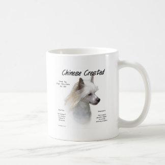 Chinese Crested (powderpuff) History Design Mug