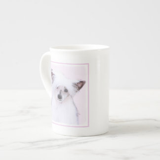 Chinese Crested (Powderpuff) Tea Cup