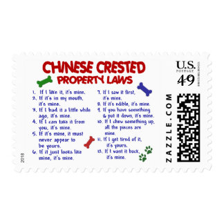 CHINESE CRESTED Property Laws 2 Stamp