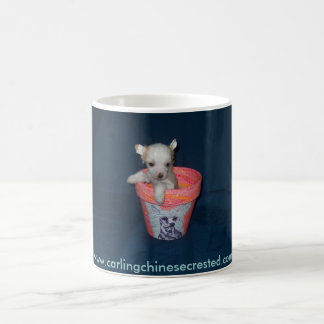 Chinese Crested Puppy Mug