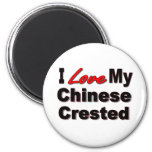 Chinese Crested Refrigerator Magnet