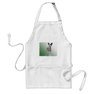 Chinese Crested Show Dog Apron