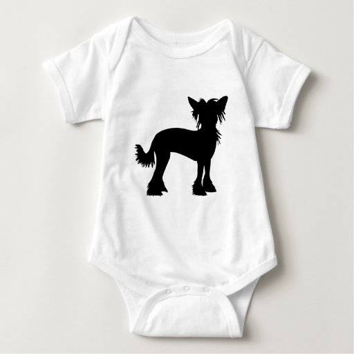 Chinese Crested Silhouette T-shirt