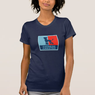 Chinese Crested US style T-shirt