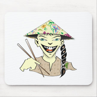 Chinese Cuisine Mouse Pad