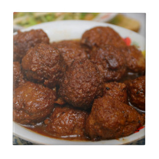 Chinese Cuisine Tile - Meat ball