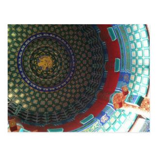 Chinese Cultural Centre Roof Postcard