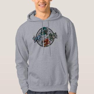 chinese design hoodie