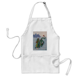 Chinese Destiny Dragon Adult Apron