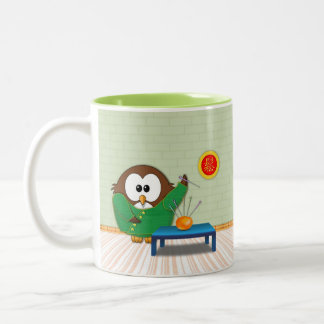 Chinese doctor owl - mug