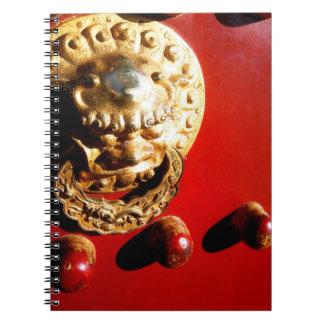 chinese door knocker notebook