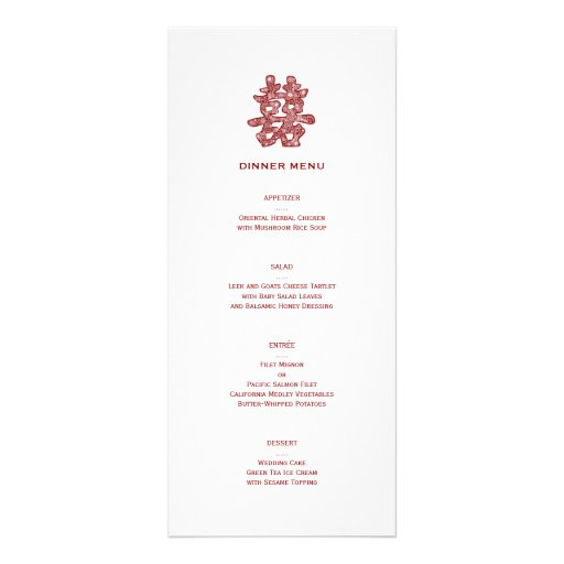 double happiness menu bend