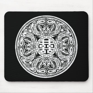 Chinese Double Happiness Mouse Pad