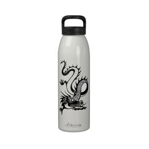 Chinese Dragon (13) Reusable Water Bottles