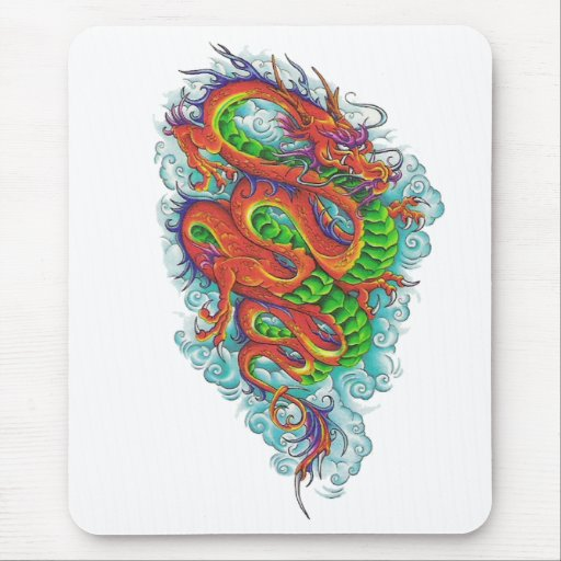 Chinese Dragon 2 Mouse Mat