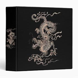 Chinese Dragon 3 Ring Binder