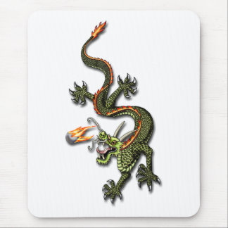 Chinese Dragon and Pearl Mouse Pad