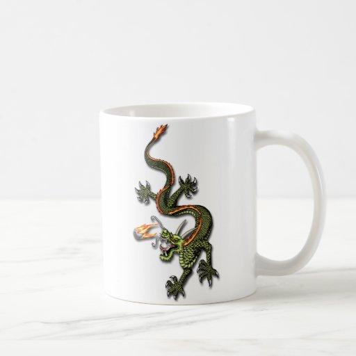 Chinese Dragon and Pearl Mug