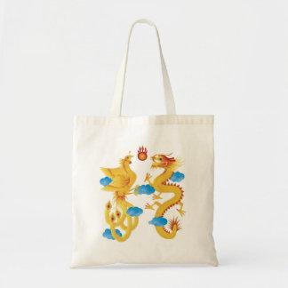 Chinese Dragon and Phoenix Bag