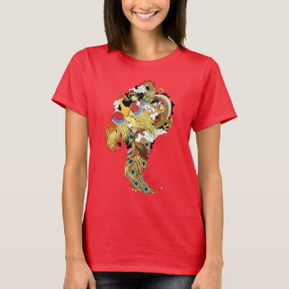 Chinese dragon and phoenix T-Shirt
