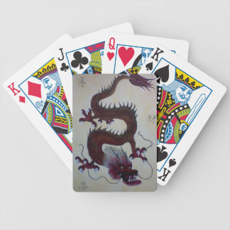 Chinese Dragon Art Playing Cards