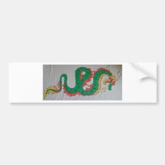 Chinese Dragon Bumper Sticker