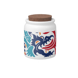 Chinese Dragon Candy Jars