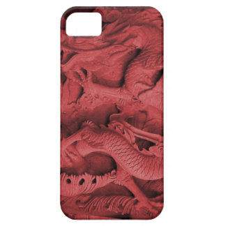 Chinese dragon carving, Singapore iPhone 5 Case