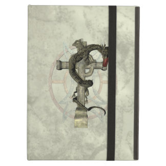 Chinese Dragon & Celtic Cross Case For iPad Air