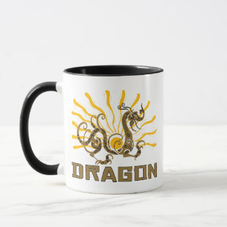 Chinese Dragon Chinese Zodiac Dragon T-Shirt Mug