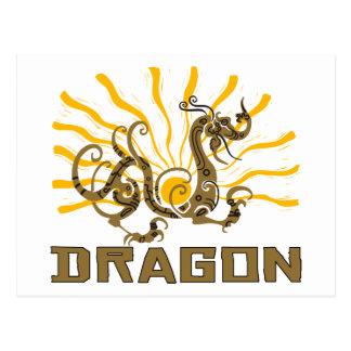 Chinese Dragon Chinese Zodiac Dragon T-Shirt Postcard