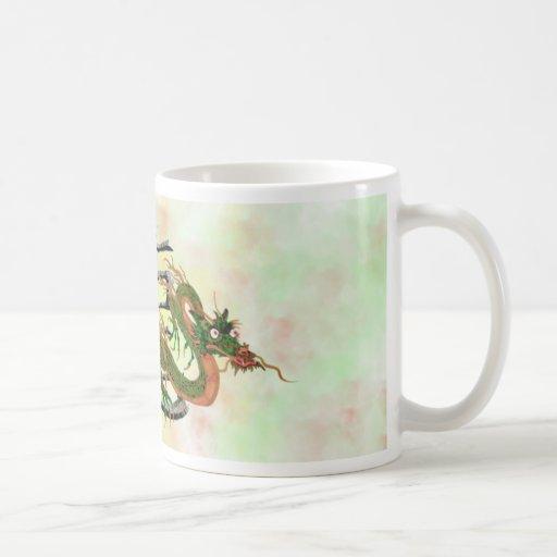 chinese dragon classic white coffee mug zazzle