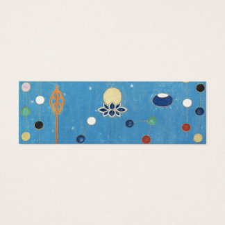 Chinese Dragon Colorful Dots Vintage Watercolor Mini Business Card