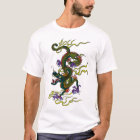 Chinese Dragon Contrast Stitch T-Shirt