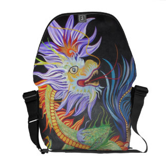 Chinese Dragon Courier Bag