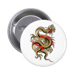 Chinese Dragon customizable designs Pinback Buttons