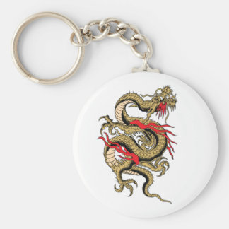 Chinese Dragon customizable designs Keychain