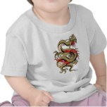Chinese Dragon customizable designs T Shirts