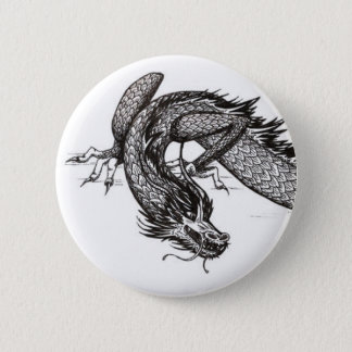 Chinese Dragon | Customizable Pinback Button