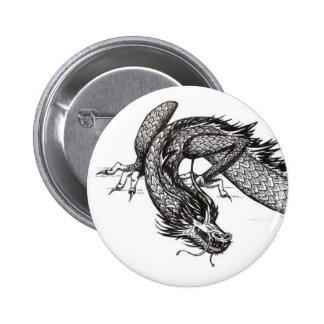 Chinese Dragon | Customizable Pinback Button