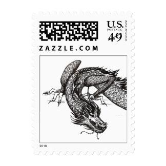 Chinese Dragon | Customizable Stamp